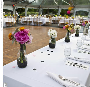 Transparent Tented Reception