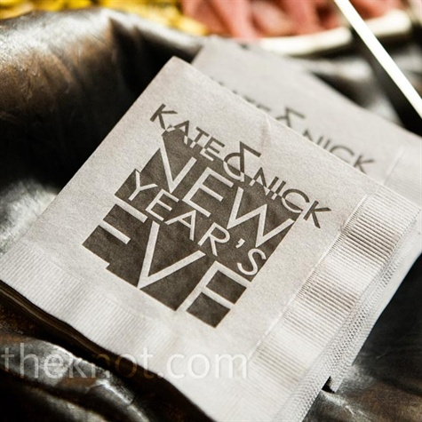 Wedding Logo Napkins