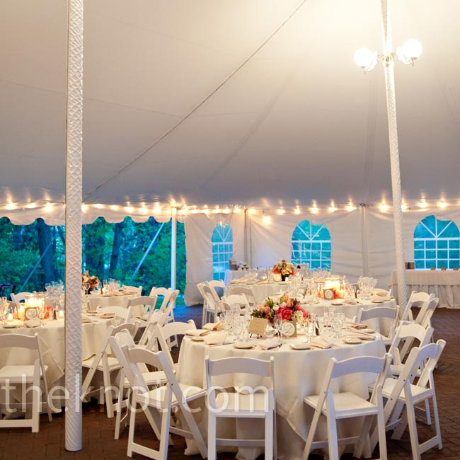 The couple loved the character of the Commander's Mansion, and also that there was an outdoor space perfect for a tent reception just steps from the building (although Sylvia had a few nightmares about rain!).