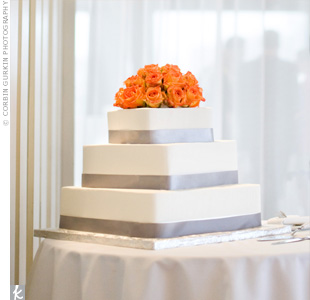 Orange Rose Cake