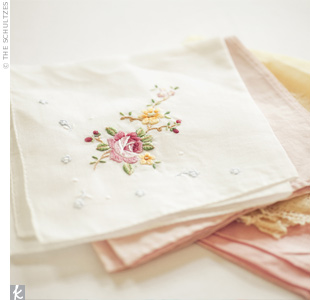 Wedding Day Handkerchief