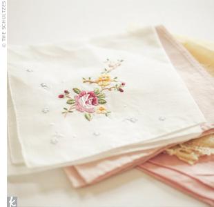 Wedding Day Handkerchief