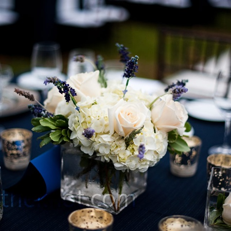 Short White Centerpieces