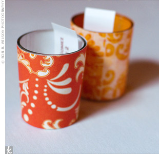 Votive Candle Favors