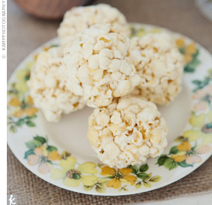 Popcorn Ball Snacks