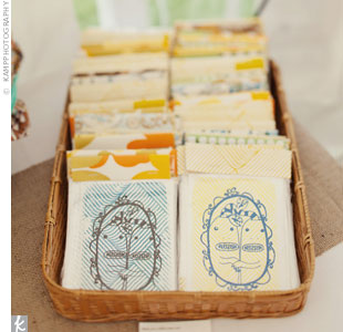 Vintage Wedding Favors