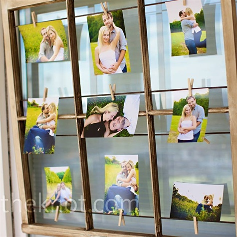 Engagement Photo Display