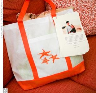 Seaside Welcome Bags