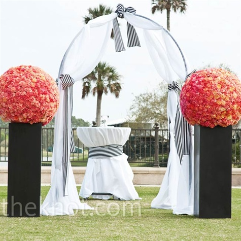 Outdoor Altar Decor