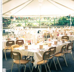 Casual Reception Tent