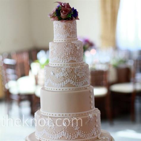 Lace Icing Cake