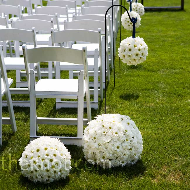 Wedding Flowers On Shepherds Hooks : How should i decorate my ceremony space pic heavy