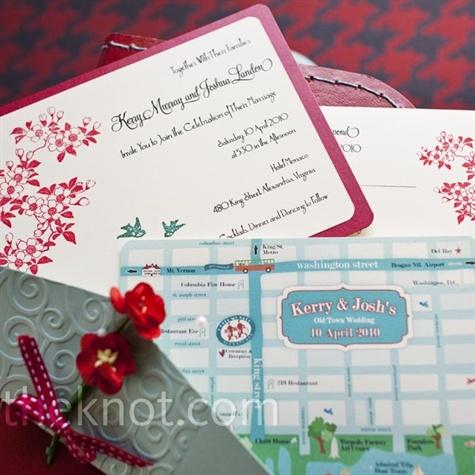 Cherry Blossom Invitations