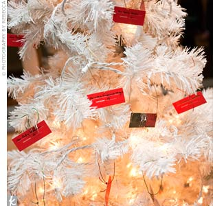 Ornament Escort Cards