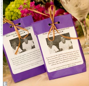 Donation Wedding Favors