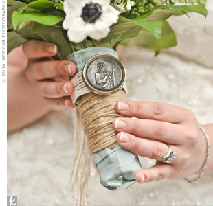 Rustic Bouquet Wrap