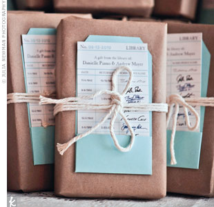 Favorite Book Favors