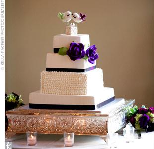 Lovebird Cake Topper