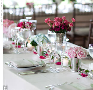 Garden Reception Decor