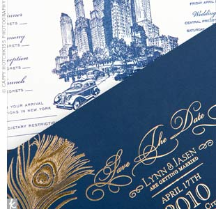 Cityscape Wedding Invitations