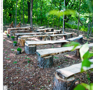 Wooden Bench Ceremony