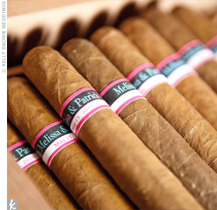 Handmade Cigar Favors