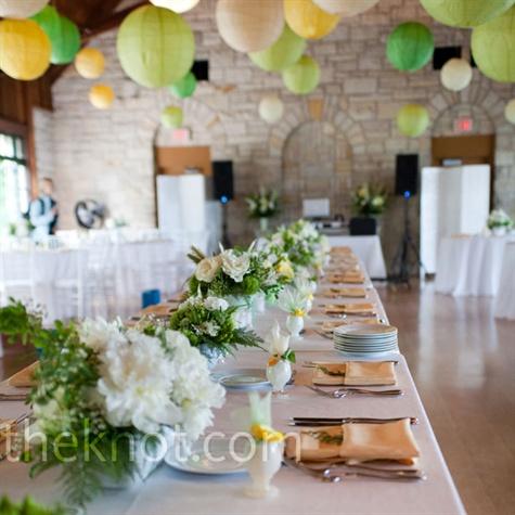 Paper Lantern Wedding Decor