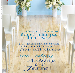 Ceremony Aisle Decals