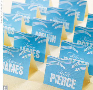 Graffiti Escort Cards