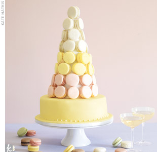 Macaron Wedding Cake