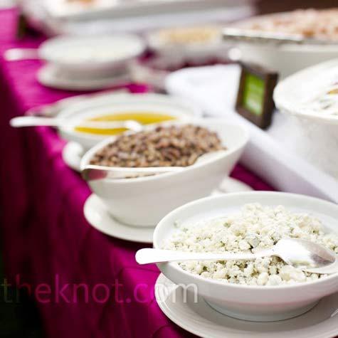 Buffet Style Wedding Menu