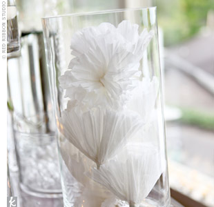 Paper Flower Wedding Decor