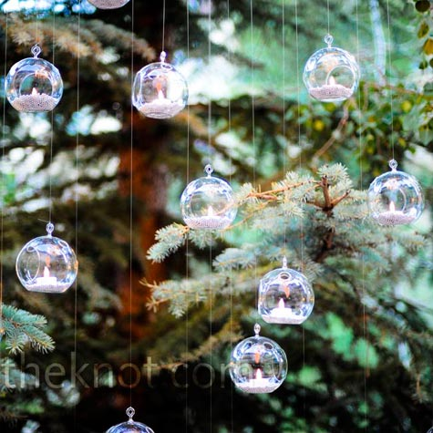 Hanging Globe Candles