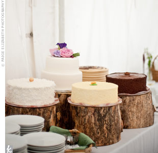 Individual Wedding Cakes