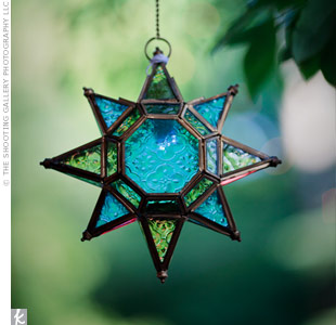 Glass Star Decor