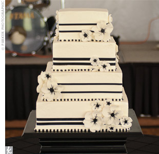 White and Black Cake