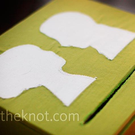 Silhouette Card Box