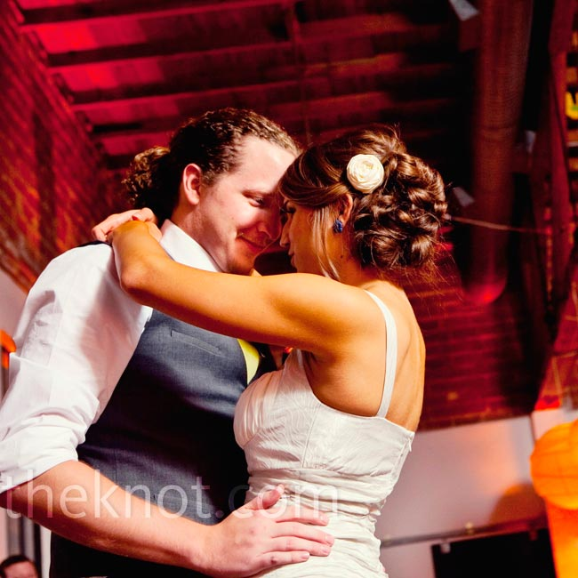 "The couple chose a DJ who liked the same songs they did—like their first-dance song, ""When the Night Comes"" by Dan Auerbach."