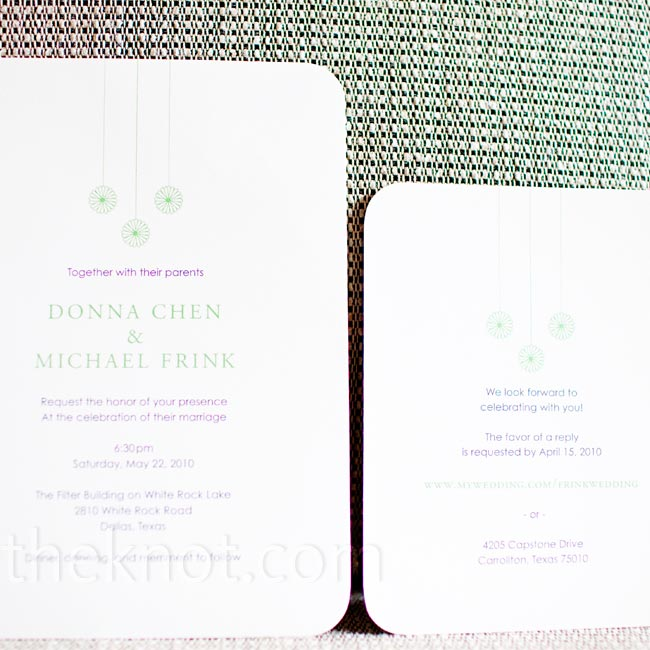 An online designer created these recycled-lokta invites.