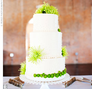 Green Mum Cake Decor