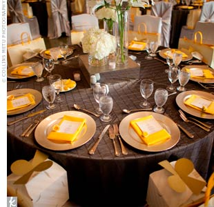 Yellow Place Settings