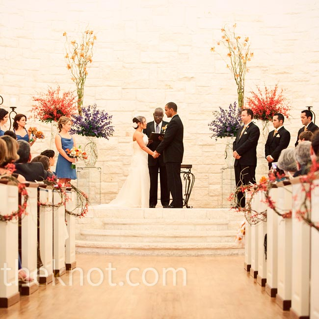 Preacher Wedding Altar: Harry's Father, A Minister, Married The Couple At The