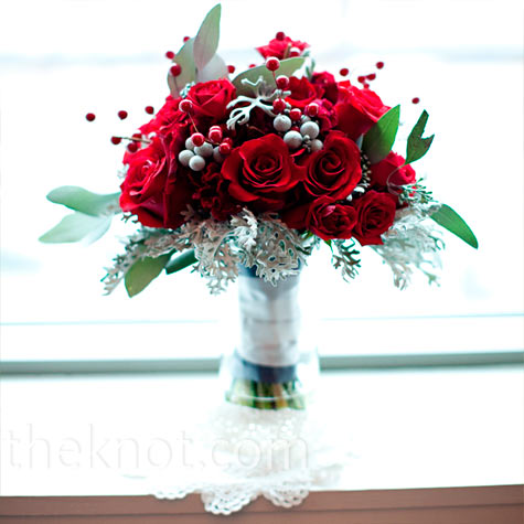 Rose and Berry Bouquet