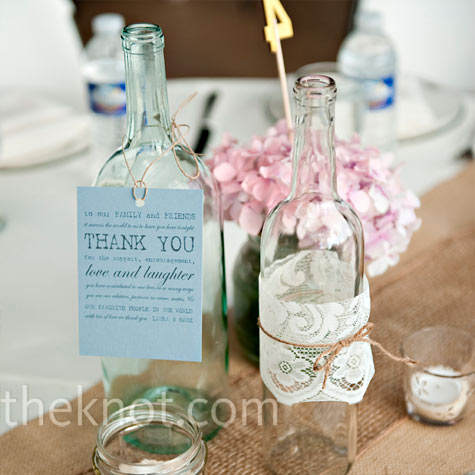 301 moved permanently for Clear wine bottle centerpieces