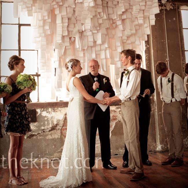 The Arts Incubator Wedding Ceremony