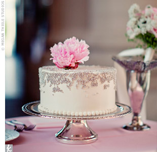 Pink Peony Cake