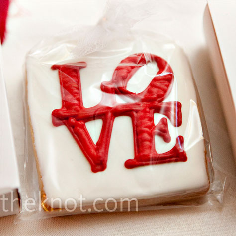 Love Cookie Favors