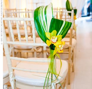 Yellow Orchid Decor