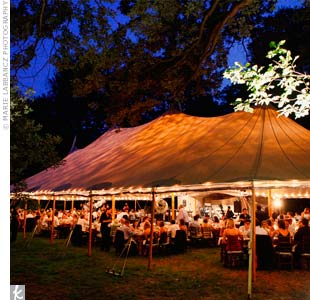 Outdoor Tented Reception