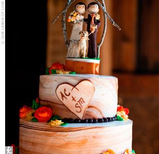 Rustic Cake Topper